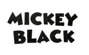 Black Metallic Glitter HandCut Chipboard Uppercase Letters Alphabet set Sickers 3.8cm Mickey Font