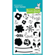 Lawn Fawn Clear Stamps 10cm x 15cm - LF1332 Fab Flowers