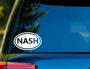 T1217 Nash Decal - 7.6cm x 13cm - Easy To Apply - Instructions Included - Premium 6 Year Vinyl