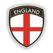 2 x 15cm/150mm England Flag Design Vinyl Stickers Travel Luggage #10651
