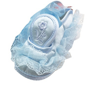 Zhuhaitf Excellent Lovely Lace Princess Shoes Baby Girls Comfortable Antiskid Shoes