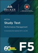 ACCA Approved - F5 Performance Management (September 2017 to June 2018 Exams)