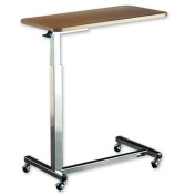 Auto-Touch Overbed Table (Each) Table Top Dimensions .190cm H x 38cm W x 80cm L by Invacare