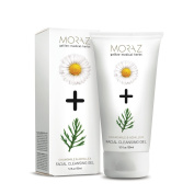 Moraz Herbal Natural Facial Cleansing Gel with Chamomile and Achillea flower extracts for All Skin Types