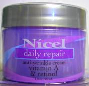 Nicel Daily Repair Vitamin A & Retinol Anti-wrinkle Cream 1.5 Oz 45 ml