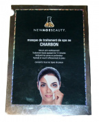 Global Beauty Age Charcoal SPA Treatment Mask, 5 masks