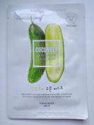 Welcos Kwailnara Cucumber Moisturising Korean Facial Sheet Mask