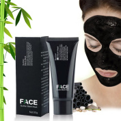FaceApeel Blackhead Remover Mask [Removes Blackheads] - Premium Quality Black Pore Removal Peel off Strip Mask For Face Nose Acne Treatment - Best Mud Facial Mask 60g