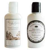 Kiss Me In The Garden Travel-Size Hand Creme Gift Set - Sea Garden and Grateful Nature Scents