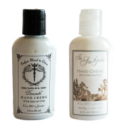 Kiss Me In The Garden Travel-Size Hand Creme Gift Set - Demoiselle and Sea Garden Scents