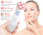 Carer Facial Beauty Machine 5 in 1 Beauty Skin Care Face Massager Machine with EP,MP,LED,EMS,RF Multi-function Facial Massager Tool