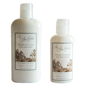 Kiss Me In The Garden Body Lotion and Hand Creme Gift Set - Sea Garden