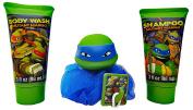 Teenage Mutant Ninja Turtles 4 pc Bath Set. Plus  .   1 Sticker Activity Set.