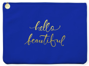 Fringe Studio Hello Beautiful Faux Leather Large Pouch