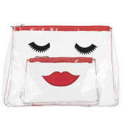 Emma Lomax Lovely Lashes Clear Toiletry & Make-up Set