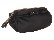 Salvatore Ferragamo Women's Vara Bow Cosmetic Case Nero