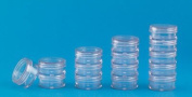 Clear Stackable Jars 5ml