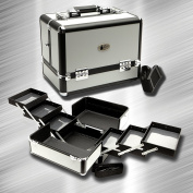 ZEN Elite Silver Makeup Case / Organiser / Cosmetic Case