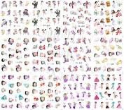 240 Cartoon Betty Boop Nail Art Sticker Decal