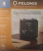 Pelonis Fan-Forced Heater ~ Black