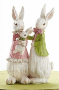 Easter White Wash Bunny Family