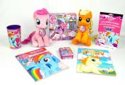 My Little Pony Double Plush Friendship Magic Toy Bracelet 9pc Gift Set Bundle