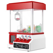 Electronic Claw Game, Magicfly Carnival Crane Claw Toy Grabber Machine- Features Animation and Sounds for Exciting Pretend Play - Ages 8+