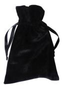 Black Velvet 6 X 9 Tarot and Rune Bag