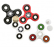 Rinhoo Hand Spinner Tri-Spinner Fidget Toy Stress Reducer