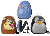Mini Small HardShell Wildfire Animal Childrens School Back Pack Bag