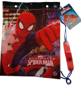 Marvel Spiderman Childrens Drawstring PE / Swimming Bag