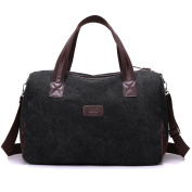 Young & Ming - Men Male Crossbody bag Large Travel Bag Canvas Mutil Function Handbag for School Work Daily Trip