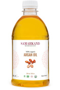 500 ml - Argan Oil 100% Pure Organic with ECOCERT Certificate For Hair & Body - Original From Morocco