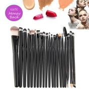 Qivange Makeup Brush Set, Eyeshadow Blending Eyeshadow Powder Brush