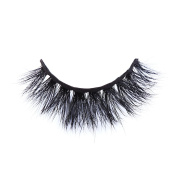 LANKIZ False Eyelashes,Mink Natural Dramatic 3d Wispies Thick Black Long Tapered Fake Lashes with Cotton Band for Party Use