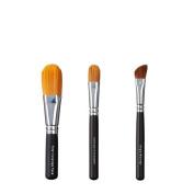 VEGAN LOVE Total Coverage Face Ultimate Concealer Brush Trio, Angle Blender