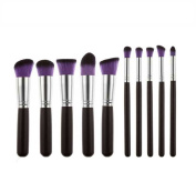 Usstore 10PC Powder Eyeshadow Makeup Brush Beauty Brushes Foundation Kits Tool Make Up For Professional Women Lady