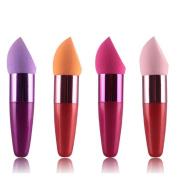 Tonsee 1PC Women Cosmetic Liquid Cream Foundation Concealer Sponge Lollipop Brush