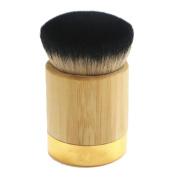 Fullkang New Bamboo Powder Foundation Brush Goat Hair Powder Makeup Brushes