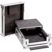 DEEJAY LED Fly Drive Case For Pioneer Djm900 Pro Mixer Or Similarly Sized Equipment W/laptop Shelf W/wheels