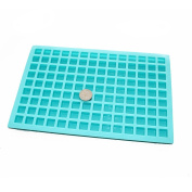X-Haibei Small Square Ice Cube Jello Candy Chocolate Making Silicone Mould Soap Supplies 5ml/Cell