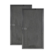 2 PACK 97007893 99010159 Broan Range Hood Aluminium Grease Filter Replacements by Air Filter Factory