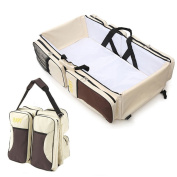 Multifunctional 3 in 1 Baby Changing Bags Travel Bassinet bed Portable Foldable Bag Tote Bag Nappy Changing Bag Baby Crib Carrycot