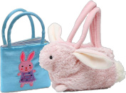 Easter Bunny Plush Goody Bag and Little Bunny Book Purse