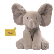 GUND Flappy The Elephant Animated Plush Toy & Coin Purse Gift Set