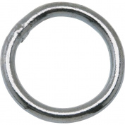 Welded Rings 2.5cm - 0.6cm #4 ROUND RING