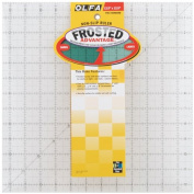 "Olfa Frosted Advantage Non-Slip Ruler ""The Standar 1 pcs sku# 642356MA"