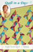 Quilt in a Day Triple Twist Quilt Pattern Designed by Joan Laisney