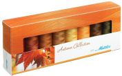 Mettler Thread Silk Finish 100% Mercerized Cotton Sewing Set; 8 Spools AUTUMN Colour Collection