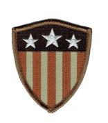Captain America Shield Stars Stripes USA Flag Morale Patch